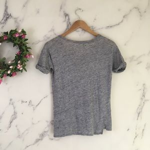 Madewell Tops - Madewell Hi-Line Zip Pocket Tee Shirt